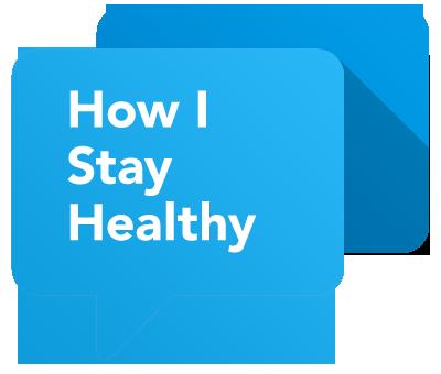 How I Stay Healthy logo