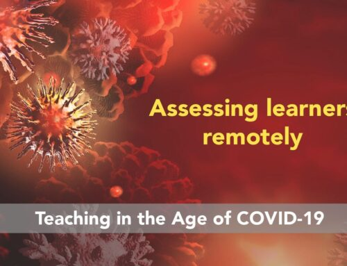 Teaching in the age of COVID-19: Assessing learners remotely
