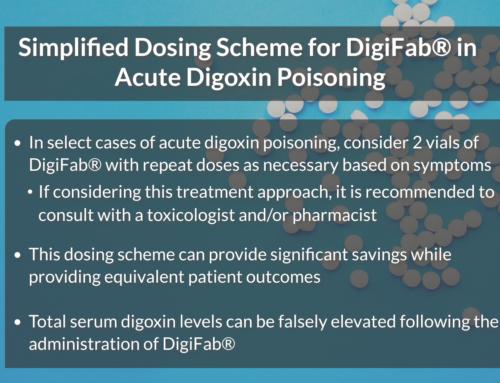 Simplified Dosing Scheme for DigiFab® in Acute Digoxin Poisoning