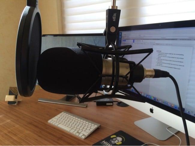 Orman Podcast Setup 1
